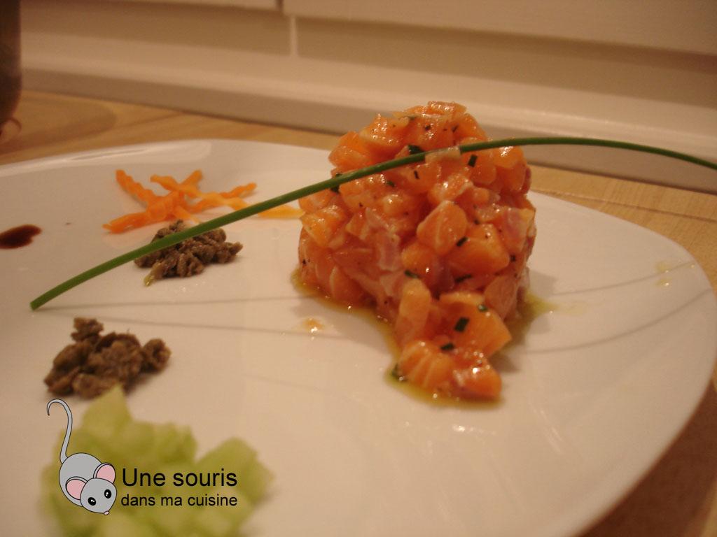 Tartare de saumons