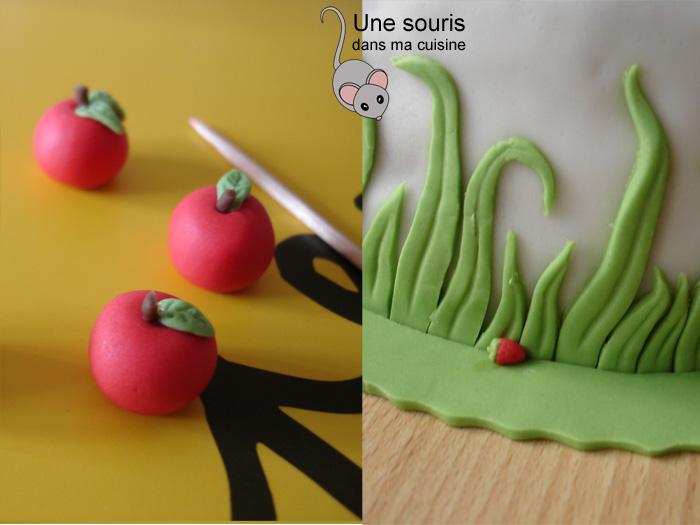 Détail des petits fruits
