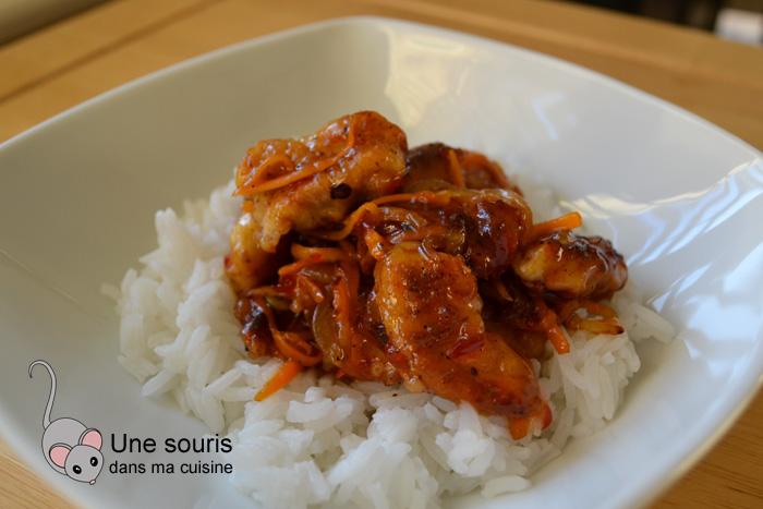 Pépites de poulet thaï