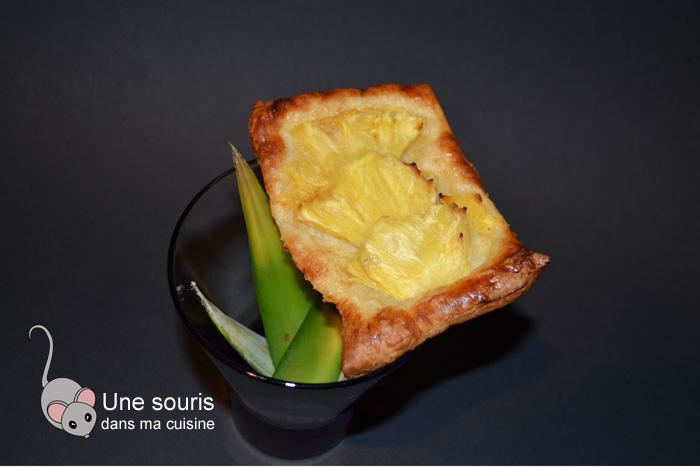Tartelettes fines à l'ananas