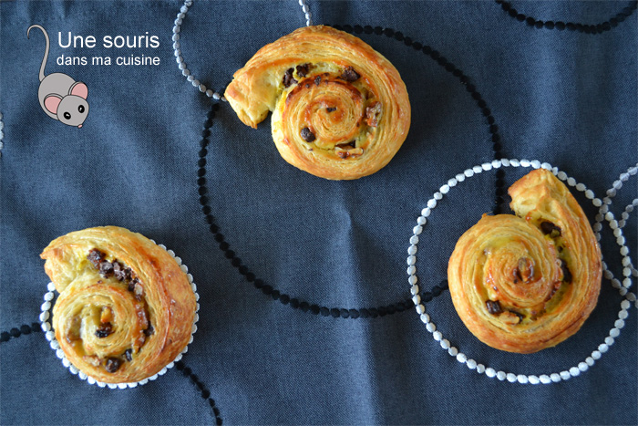 Escargots aux fruits secs