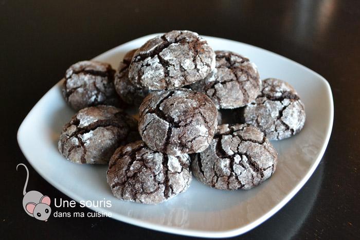 Biscuits craquelés comme des beignets