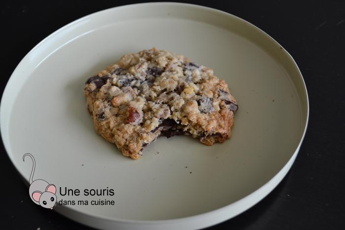 Biscuits à l'avoine, noix de coco et pépites de chocolat