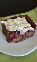 Tarte aux fraises et à la ganache au gianduja