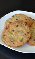 Rouleaux de biscuits aux brisures de chocolat