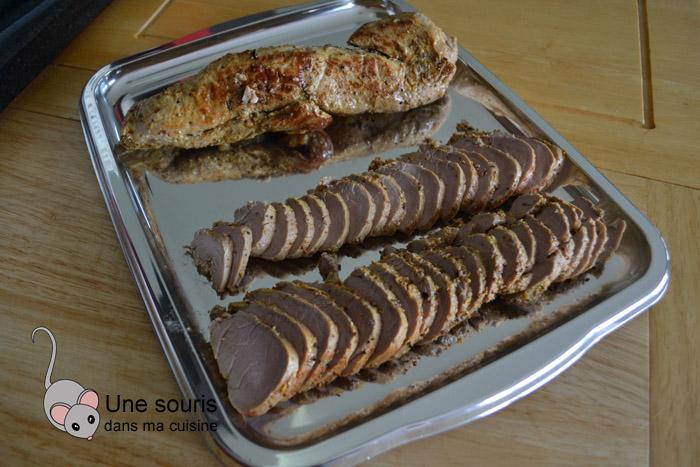 Filet de porc au piment d'Espelette et d'Alep