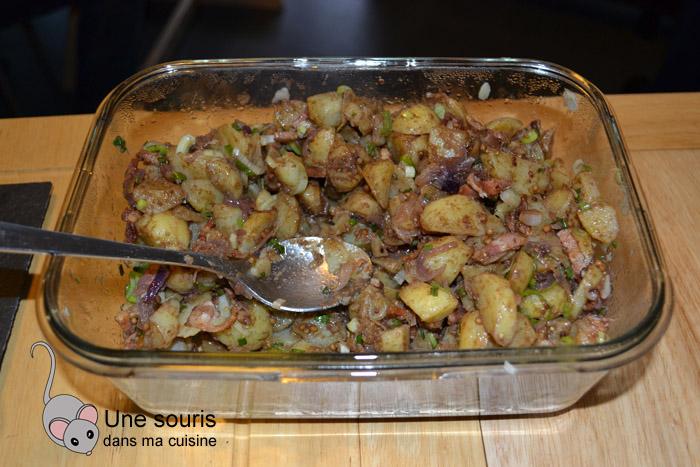 Salade de pommes de terre au balsamique