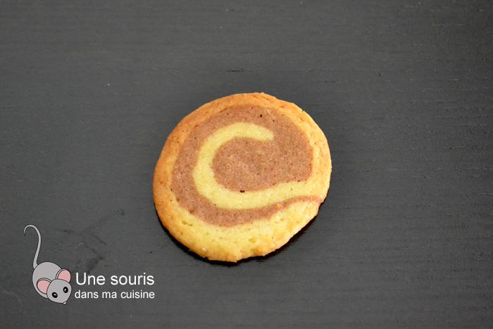 Biscuits spirales à la cannelle