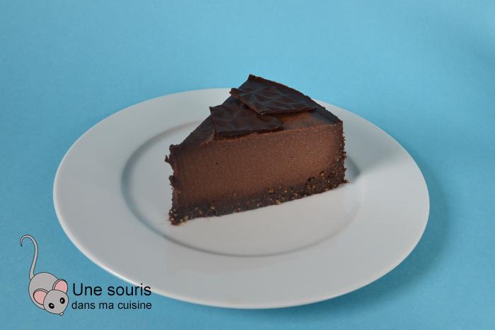 Gâteau aux noix et au chocolat sans...