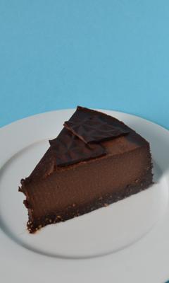 Gâteau crémeux aux noix et au chocolat sans...
