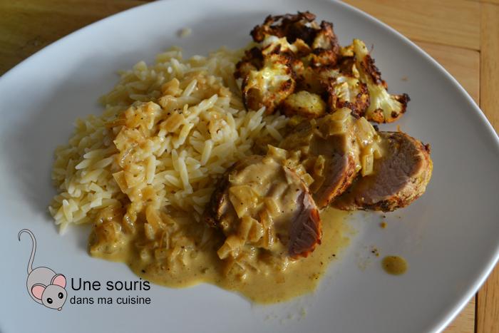 Filet de porc marinade à souvlaki