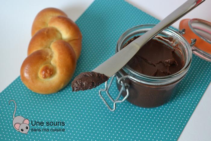 Tartinade chocolatée maison