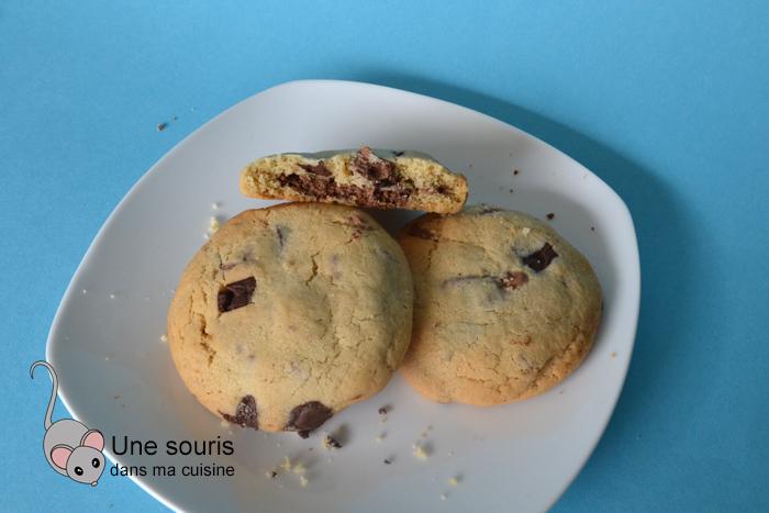 Biscuits avec un coeur surprise