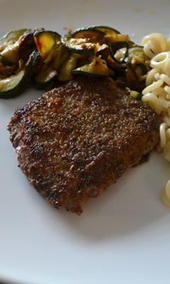 Steaks minutes aux épices